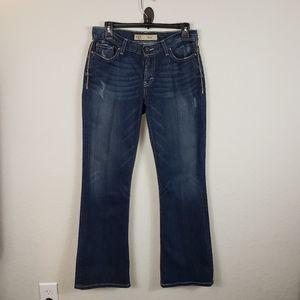 BKE Flare/Wide Leg Jean Drew Dark Wash Sz 27
